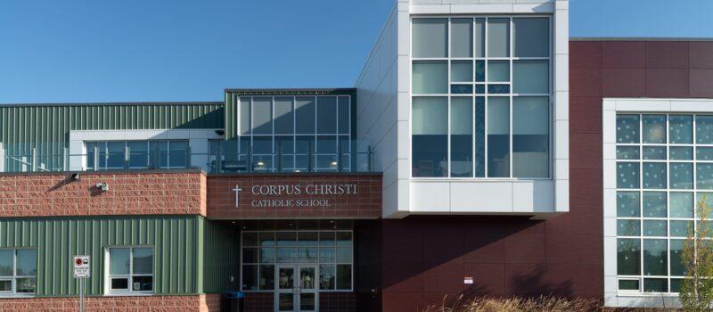 Corpus Christi Catholic School exterior