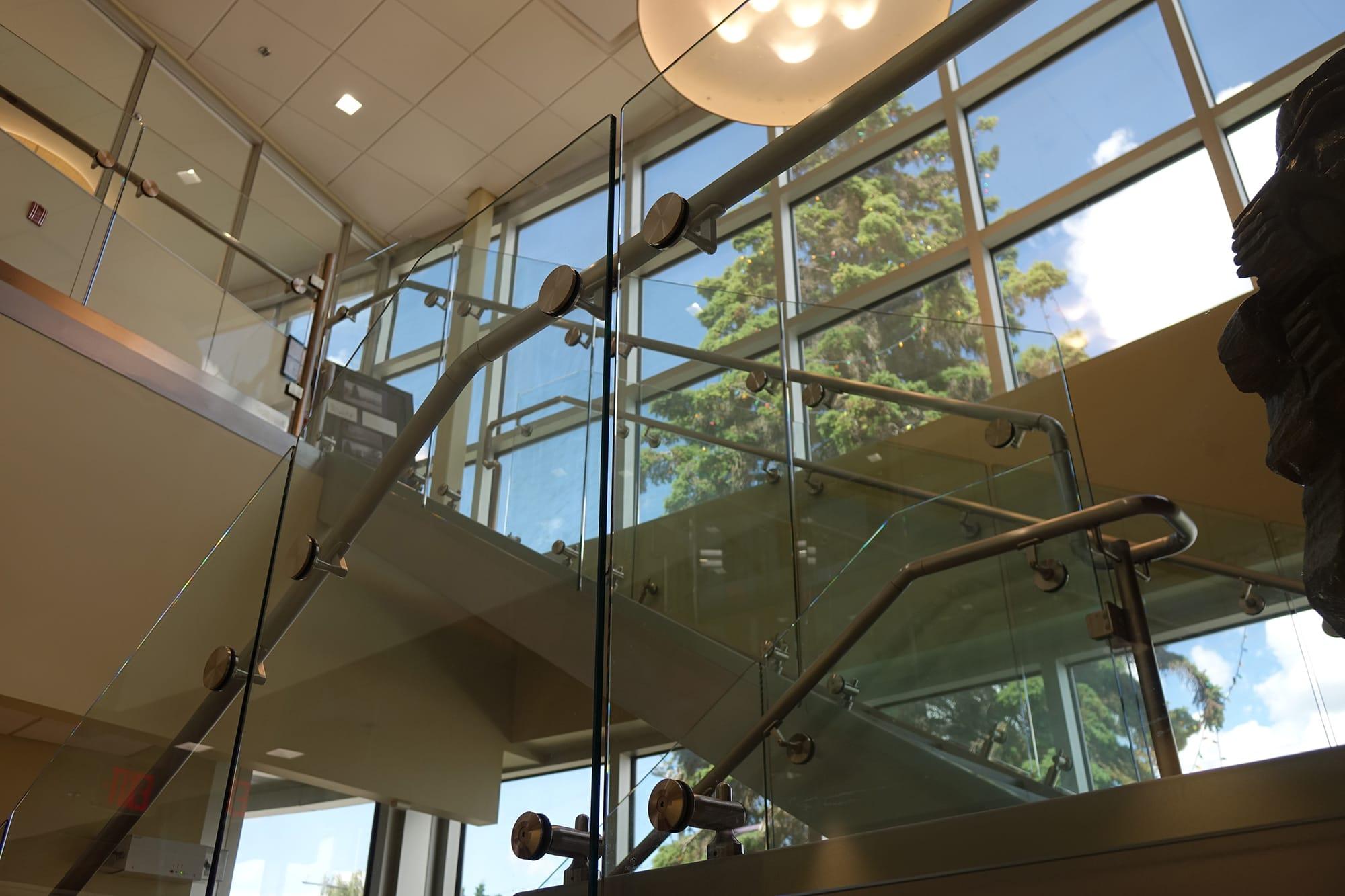 Chris Page and Associates interior atrium