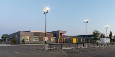 Caernarvon Elementary School exterior