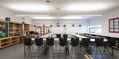 Caernarvon Elementary School classroom