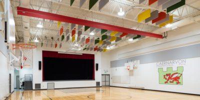 Caernarvon Elementary School gymnasium