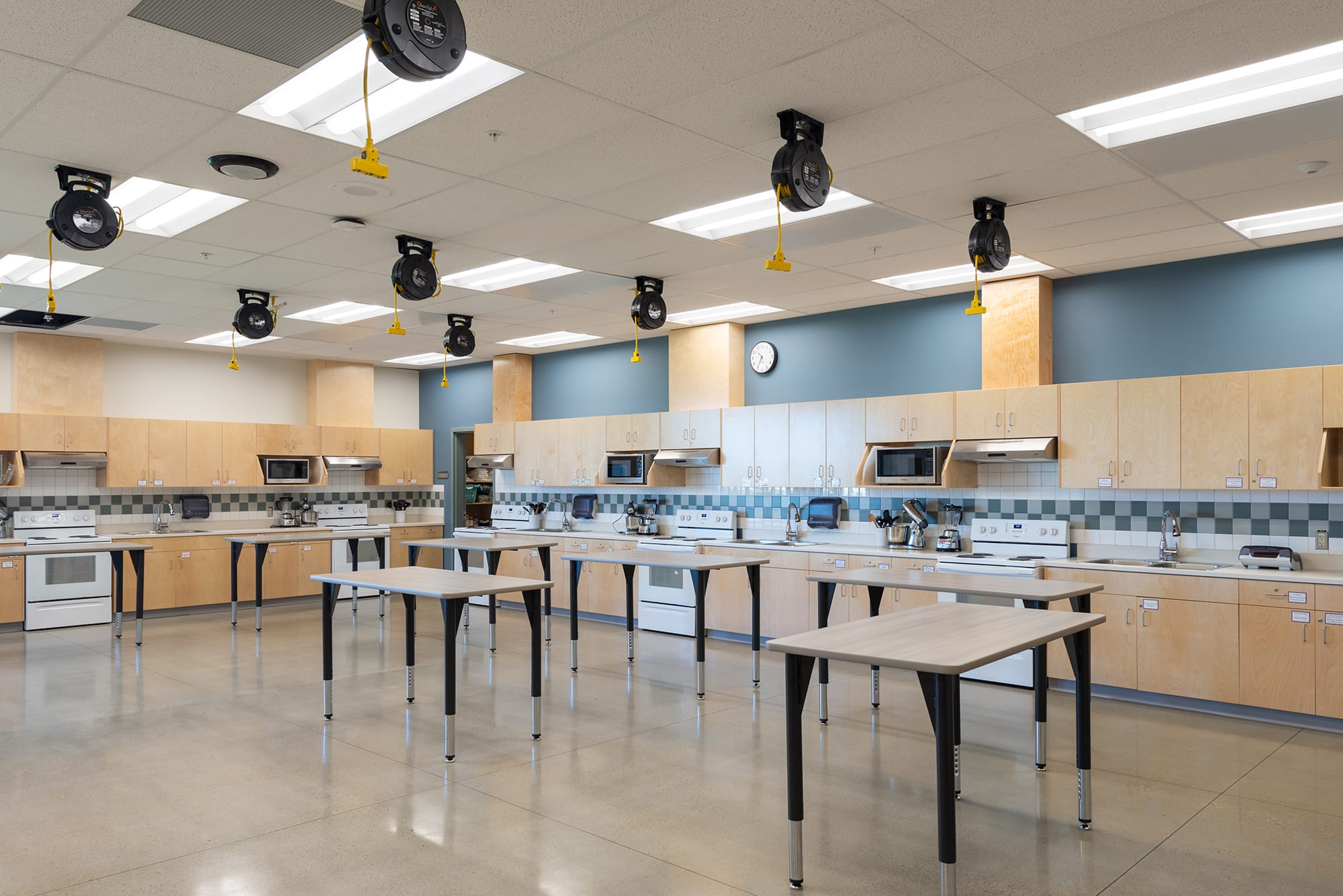Corpus-Christi-Catholic-School interior kitchen lab