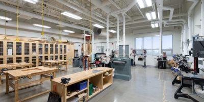 Corpus-Christi-Catholic-School interior workshop