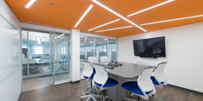 JEN COL Construction interior boardroom