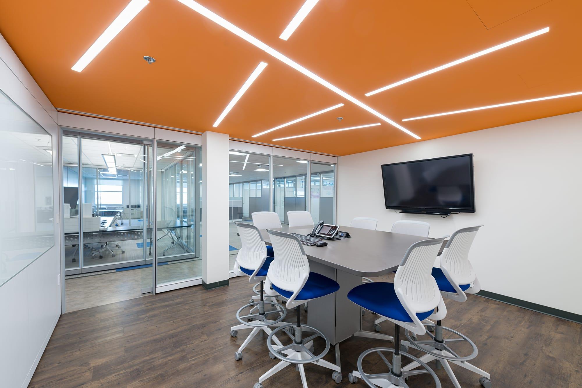 JEN COL Construction interior boardroom