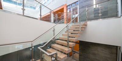 JEN COL Construction interior staircase