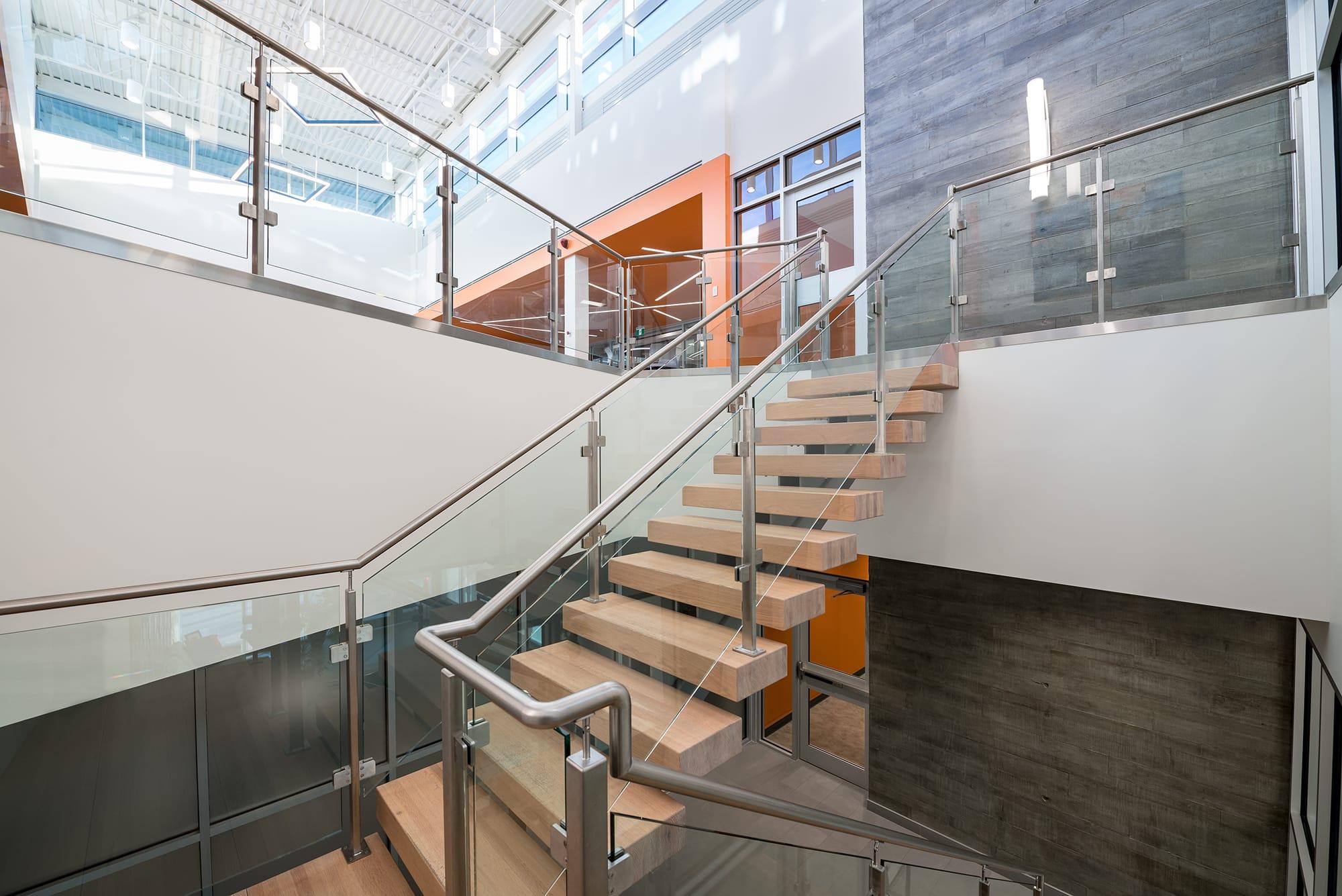 JEN COL Construction interior staircase