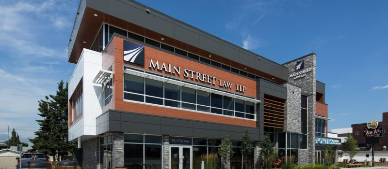 Main Street Law exterior front on an angle