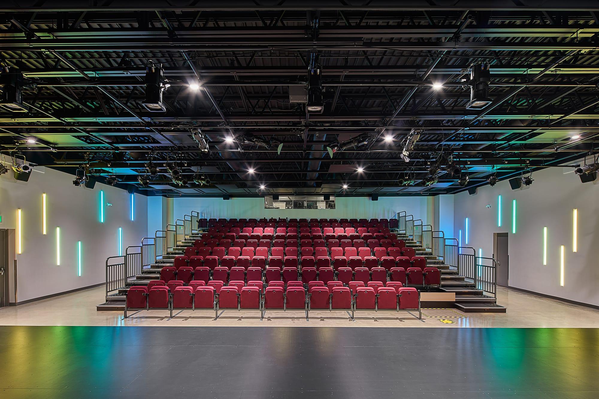Performing Arts Theatre of Hinton interior