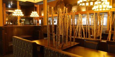 Sawmill Restaurant interior
