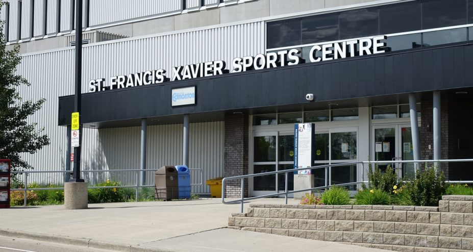 St-Francis Xavier Sports Centre entrance