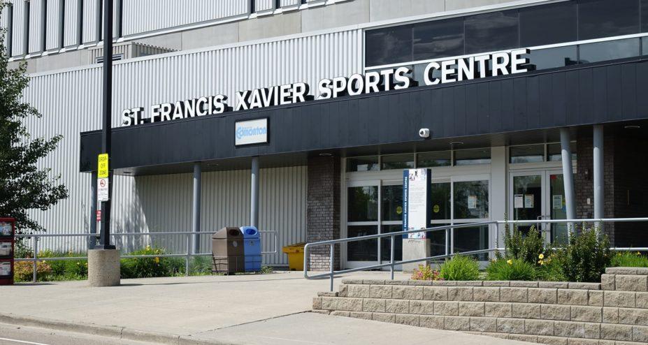 St-Francis Xavier Sports Centre entrance
