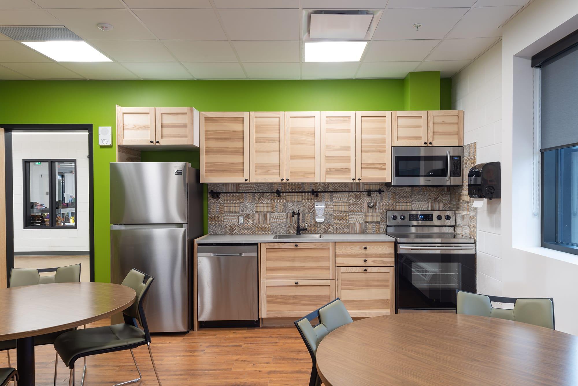 Alberta Hospital Edmonton Greenhouse kitchen