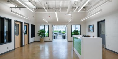Alberta Hospital Edmonton Greenhouse interior