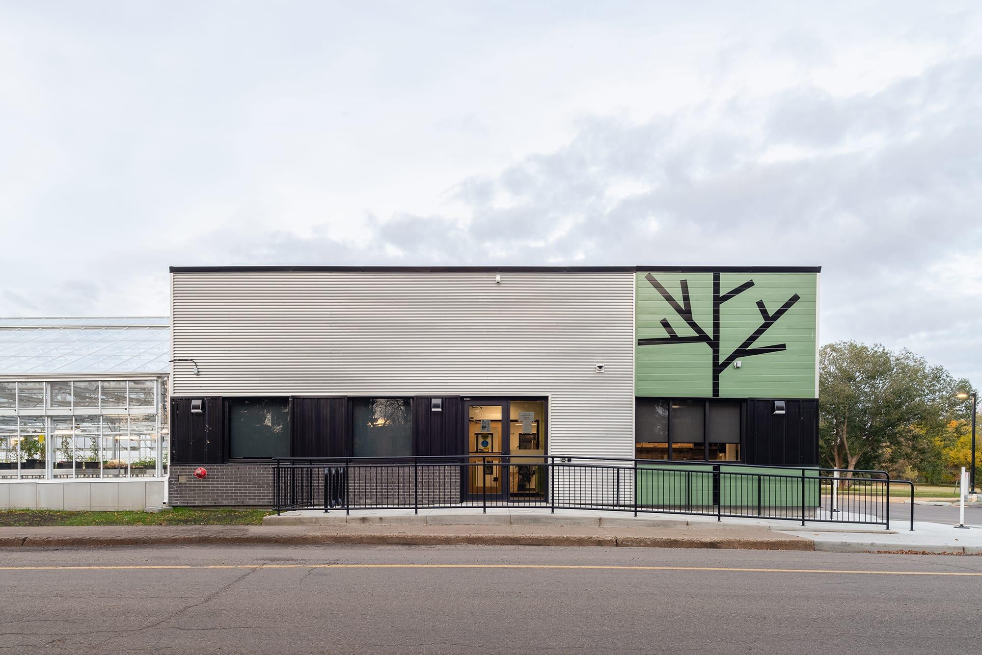 Alberta Hospital Edmonton Greenhouse exterior