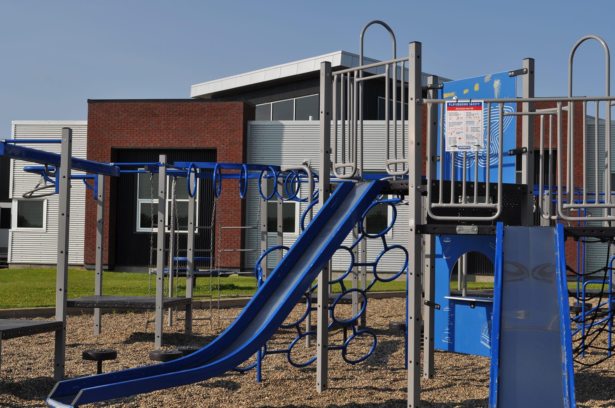 Clairmont Community School and Wellington Resource Centre playground
