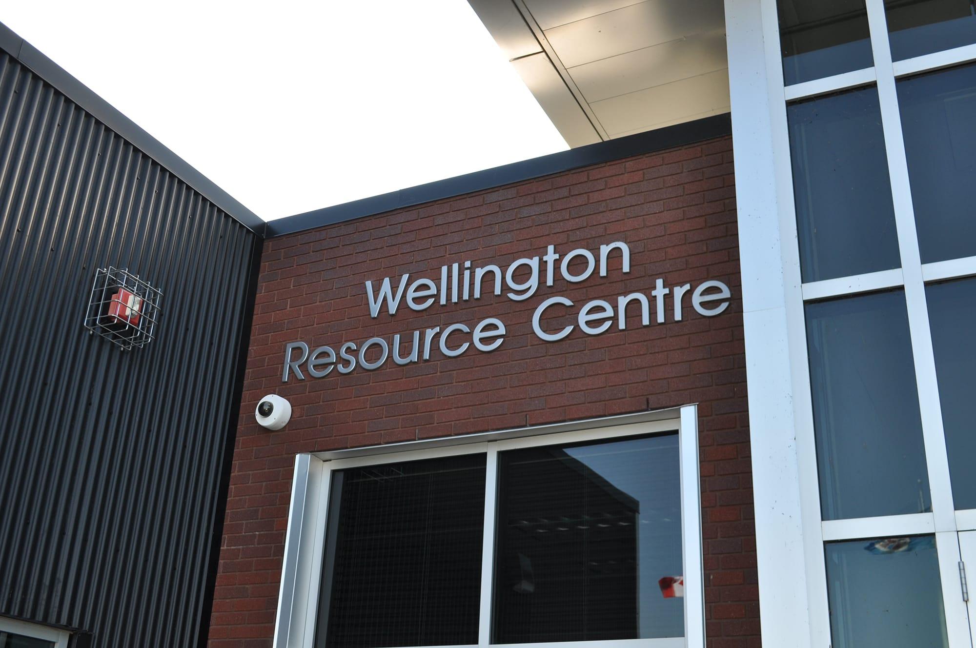 Wellington Resource Centre entrance