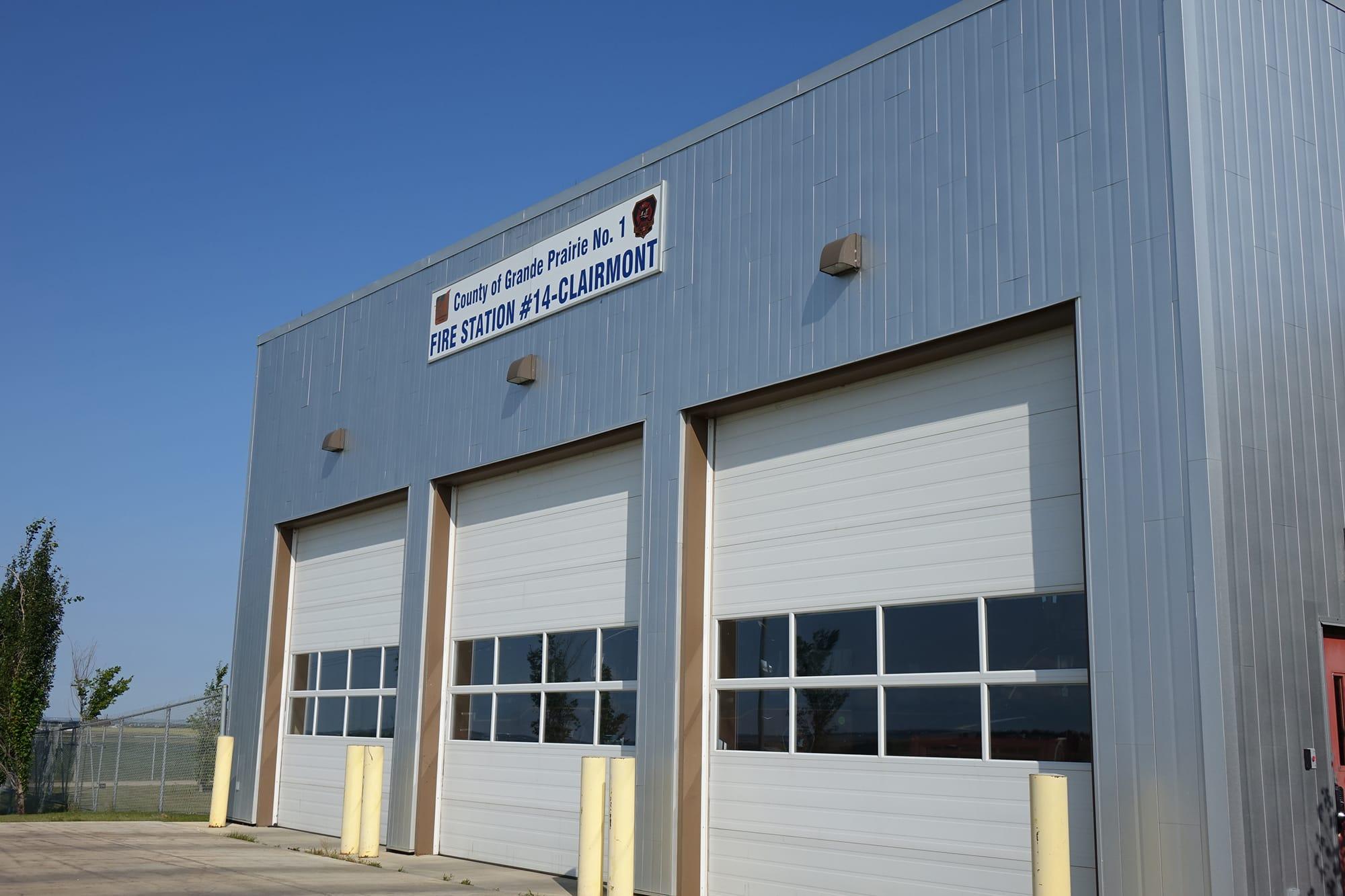 Clairmont Fire Station No14 exterior bays