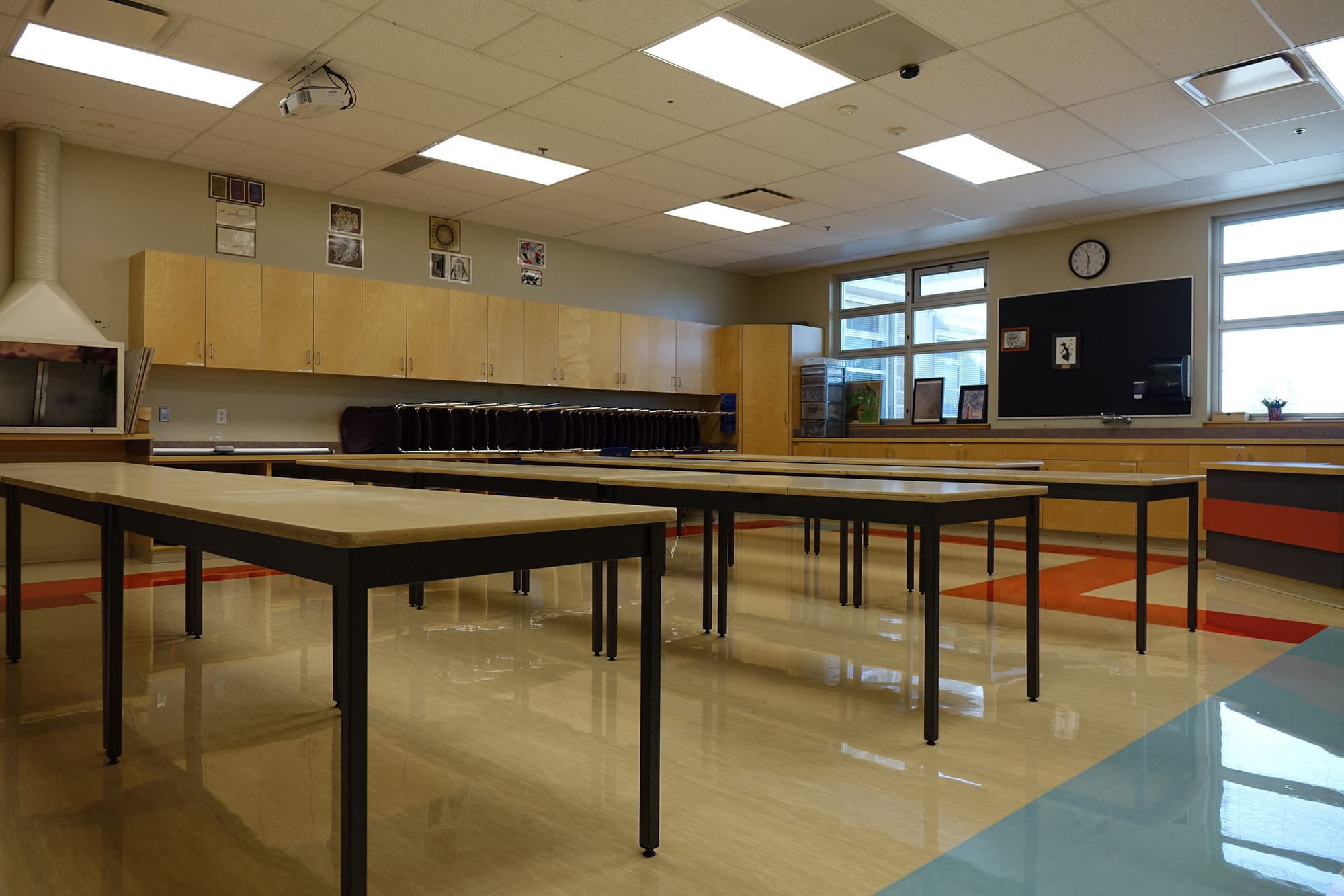 Derek Taylor Public School interior