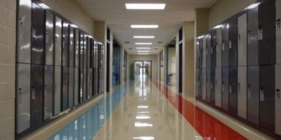 Derek Taylor Public School hallway