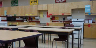 Derek Taylor Public School classroom
