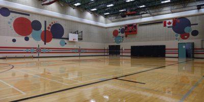 Derek Taylor Public School gymnasium