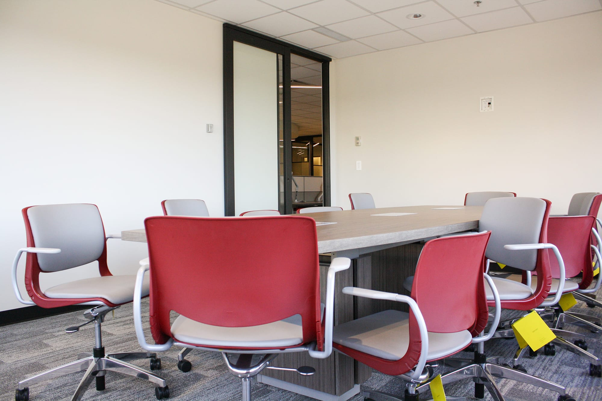 Edmonton Public School Board office interior meeting room