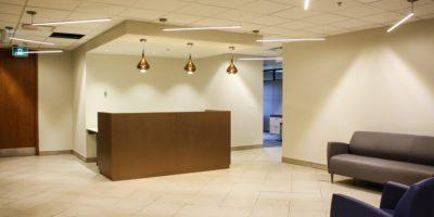 Edmonton Public School Board office interior reception