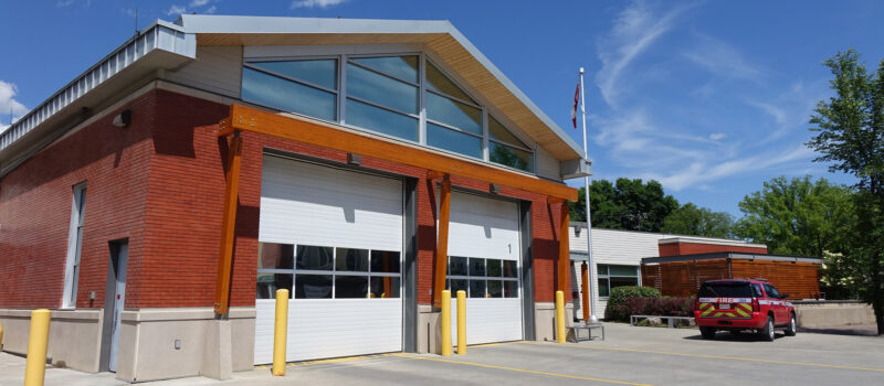Rescue Services Norwood Station No. 5 exterior