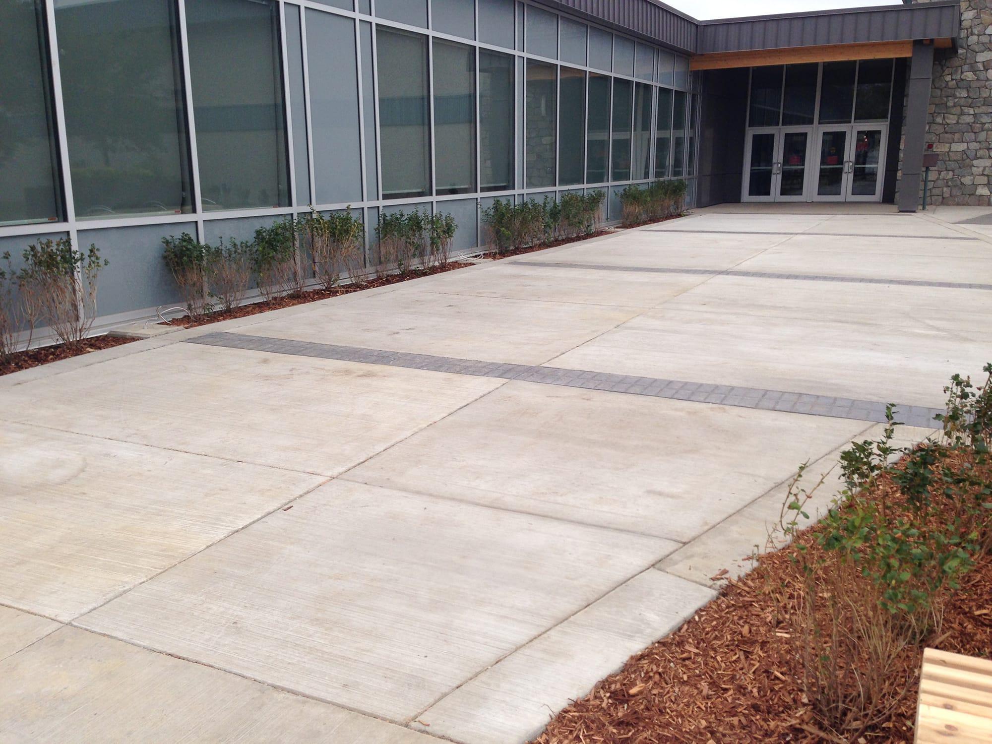 Glenmary School exterior paving