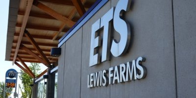 Lewis Farms Transit Centre sign