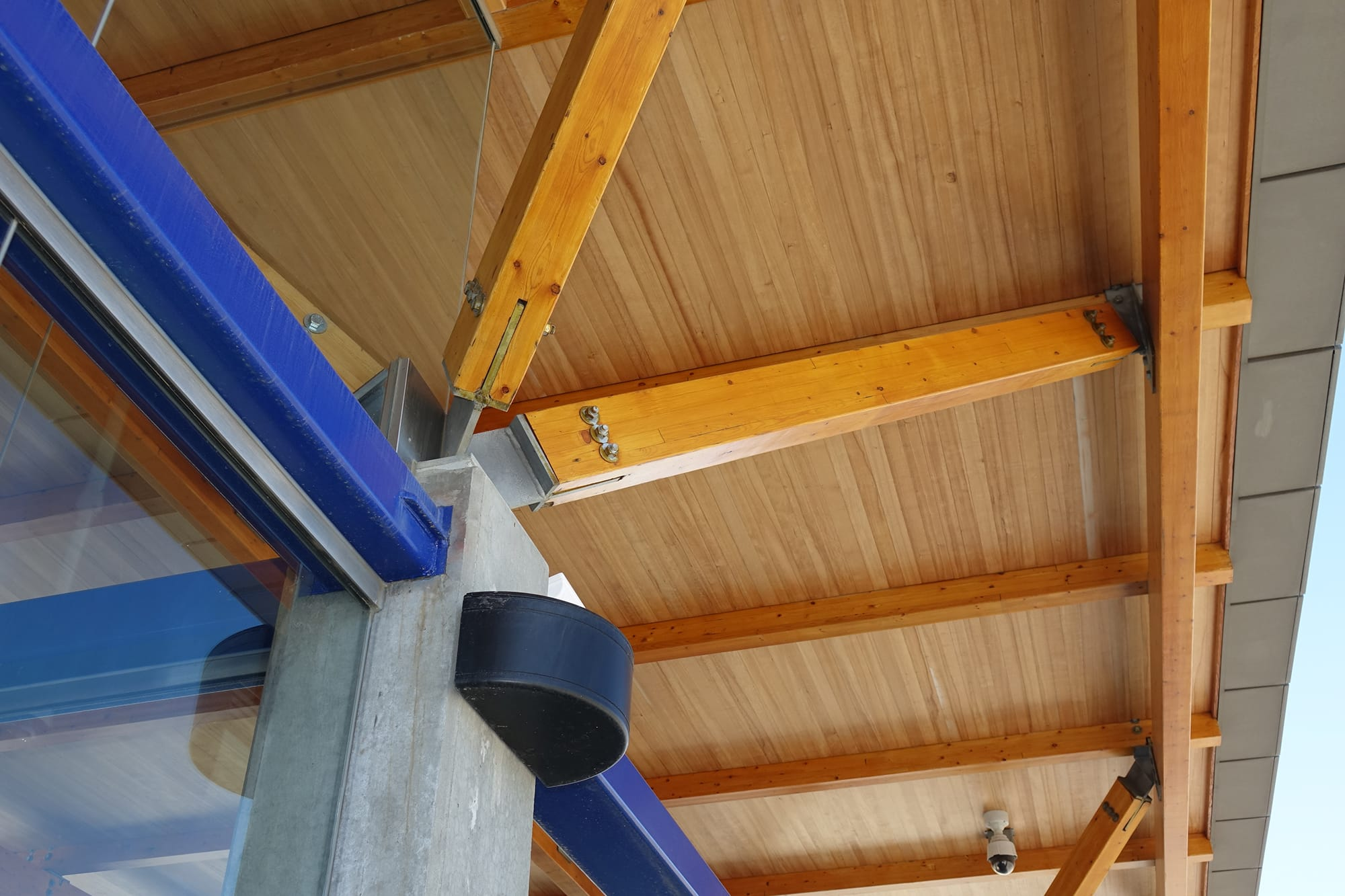 Lewis Farms Transit Centre ceiling