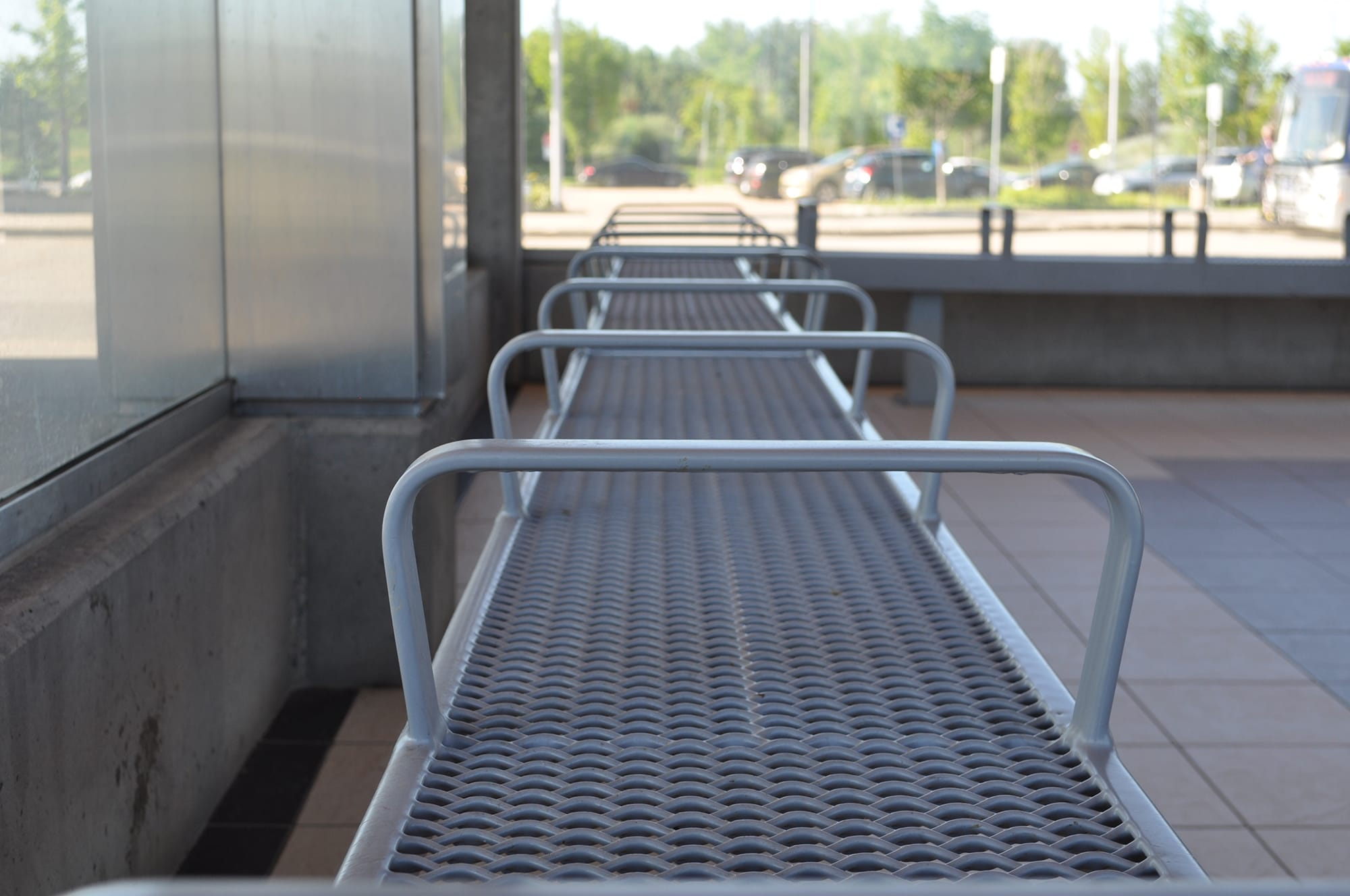 Lewis Farms Transit Centre seating