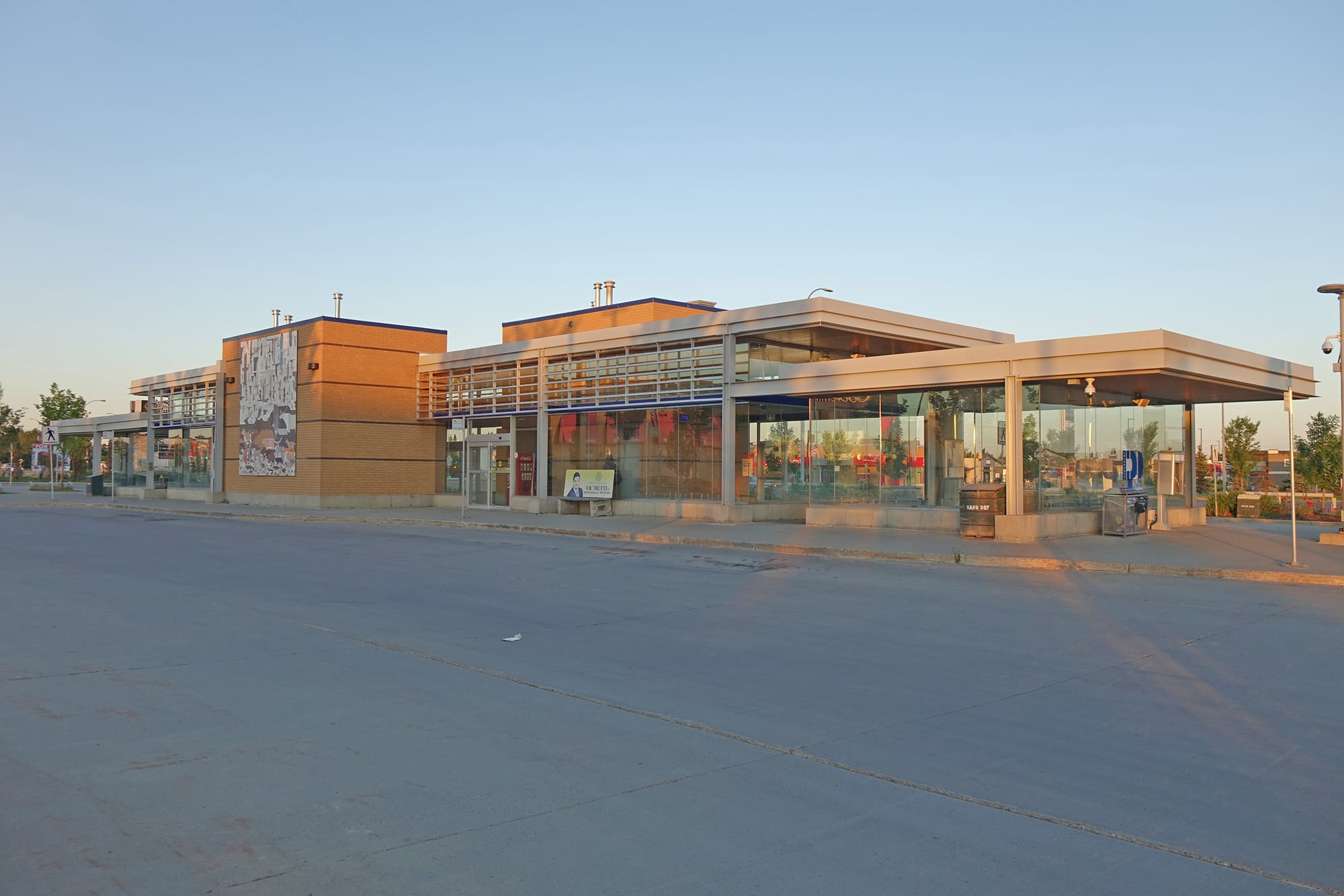 Meadows Transit Centre exterior