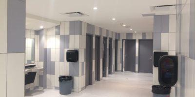 Oilfields High School bathroom renovation
