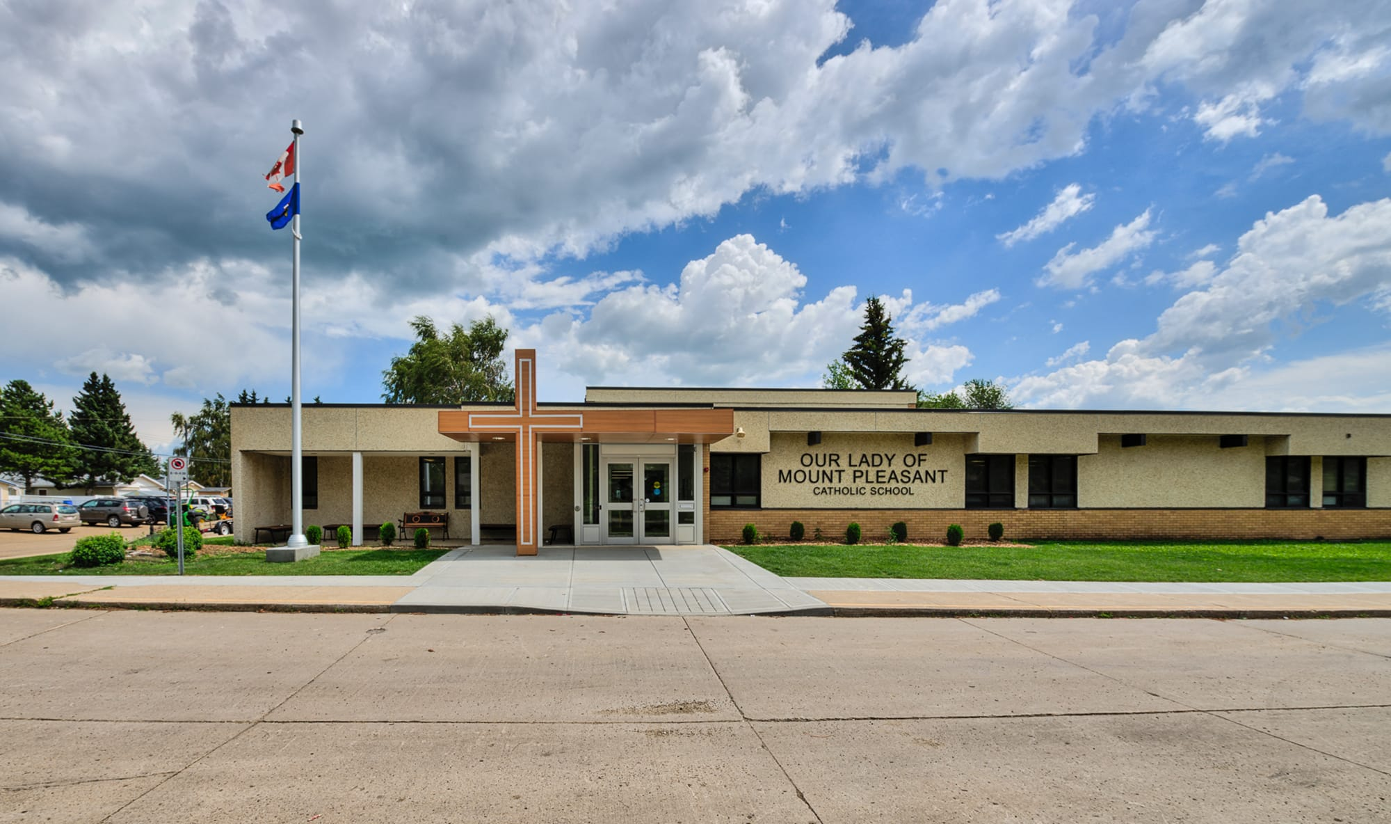 Our Lady of Mount Pleasant School exterior