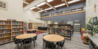 Our Lady of Mount Pleasant School interior library