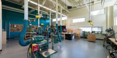 Our Lady of Mount Pleasant School interior workshop