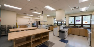 Our Lady of Mount Pleasant School interior cooking lab