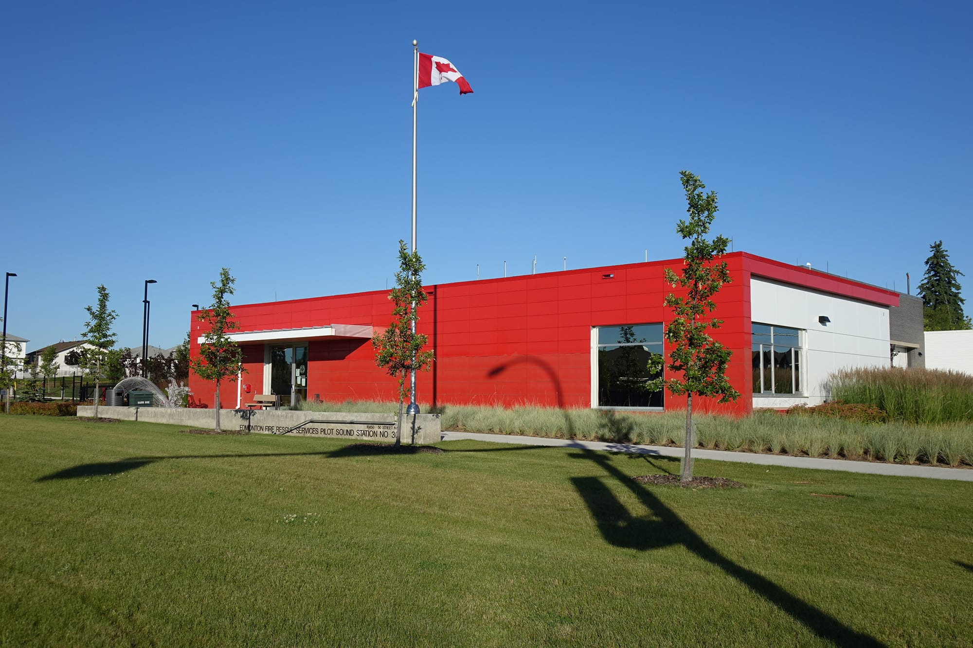 Pilot Sound Fire Station exterior