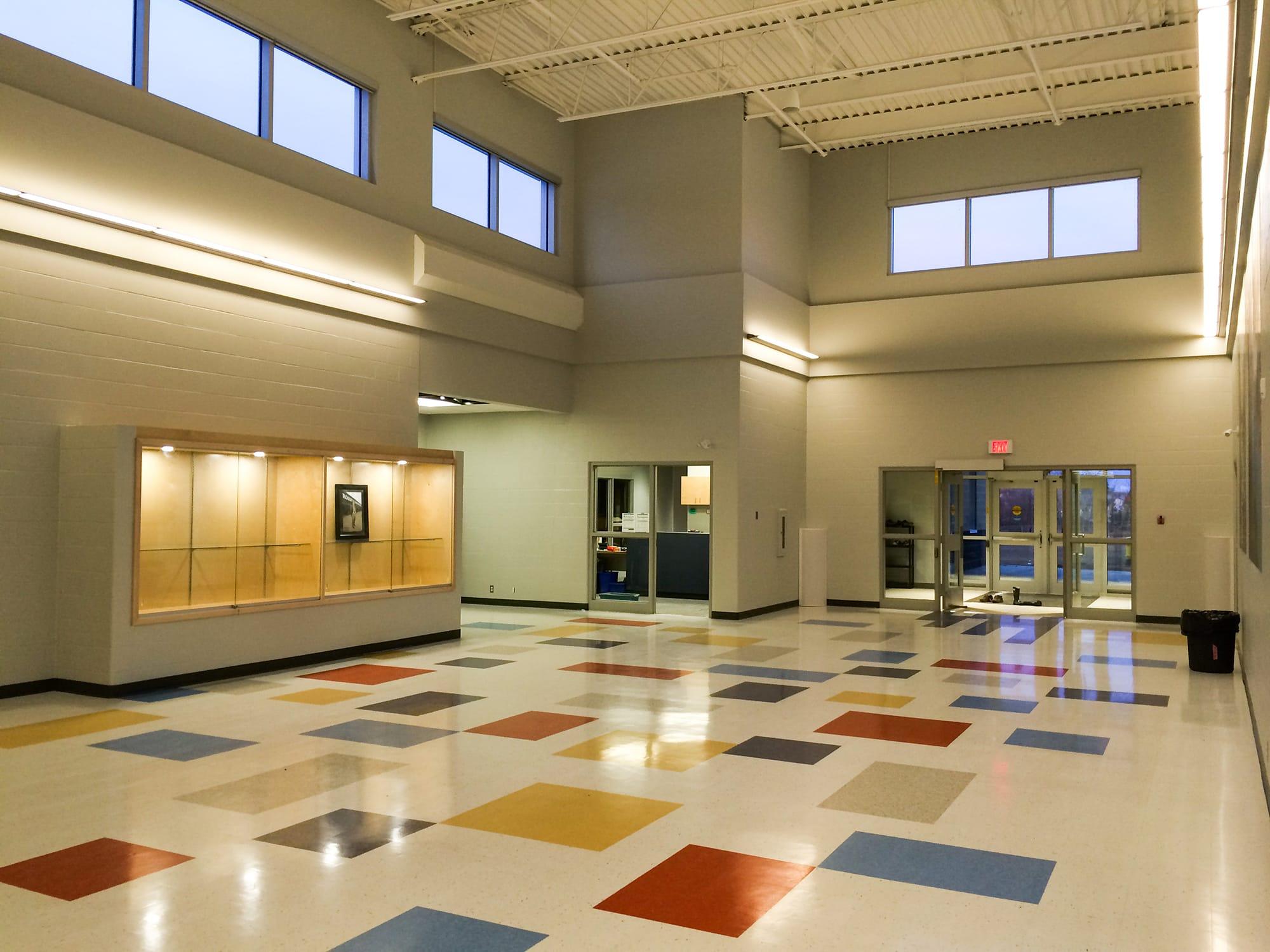 Robert W Zahara Public School interior