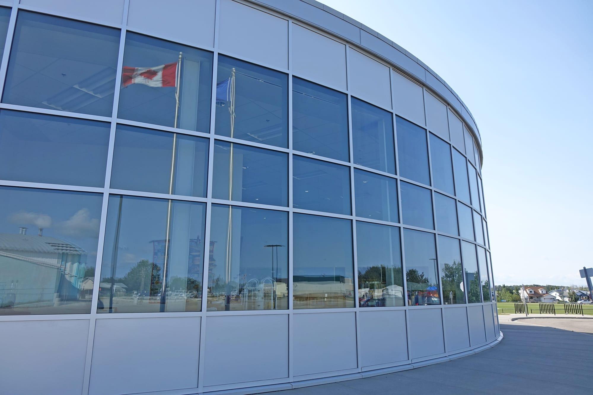 Robert W Zahara Public School exterior windows