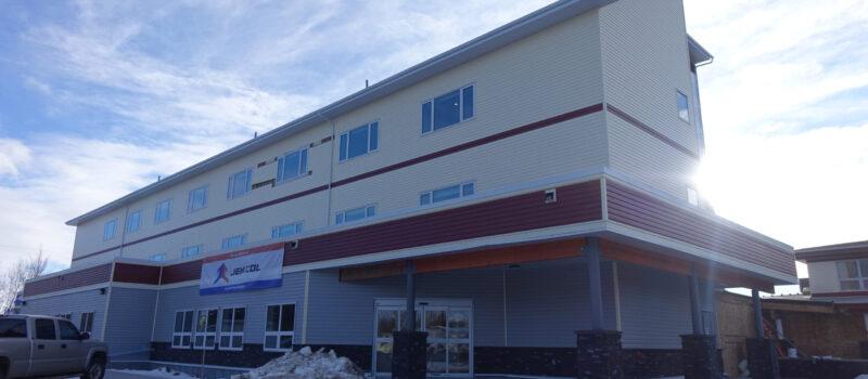 Hillcrest Lodge assisted living facility Barrhead, Alberta - Exterior