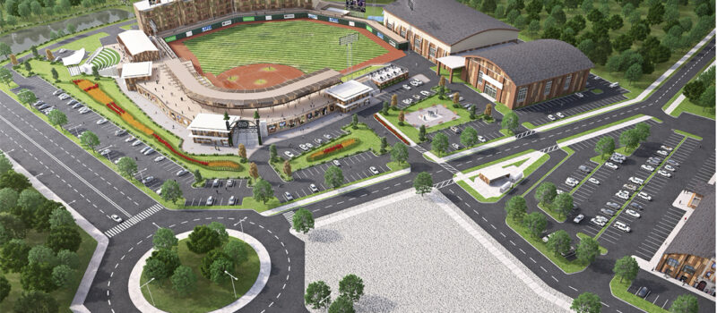 Edmonton Prospects Ballpark Rendering