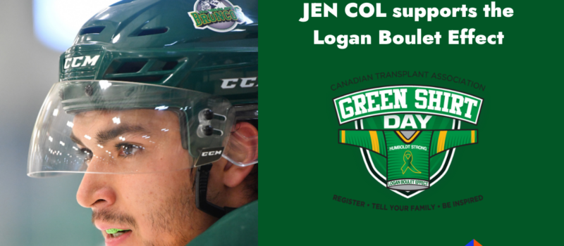 JEN COL supports the Logan Boulet Effect