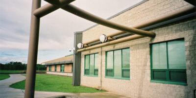 Chateh Community School exterior