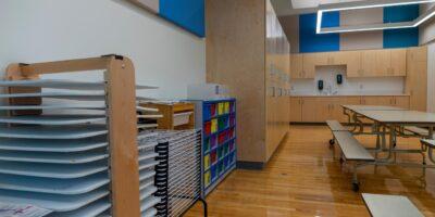 Ecole Pere Kenneth Kearns Catholic School interior
