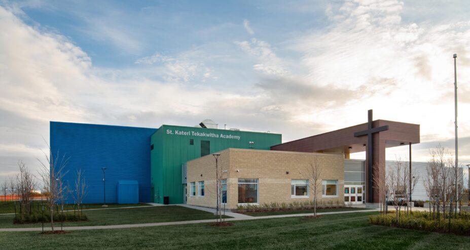 St Kateri Tekakwitha Academy exterior