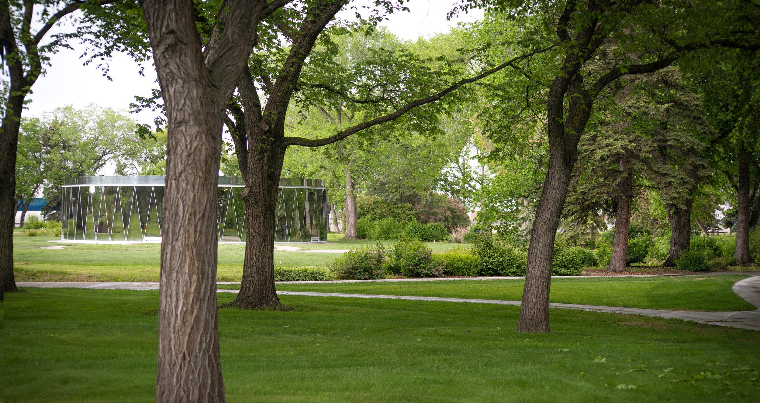 Borden Park Pavilion Exterior